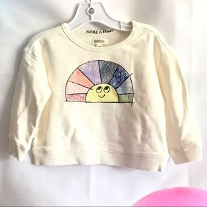 GYMBOREE Rainbow and Sun Sweater ☀️